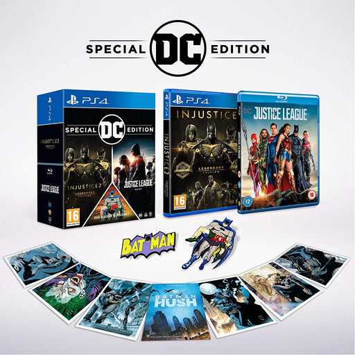 INJUSTICE 2 LEGENDARY EDITION DC SPECIAL EDITION - PS4 GAME