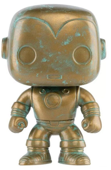 FUNKO POP! MARVEL 80 YEARS: THE INVINCIBLE IRON MAN (PATINA) #498