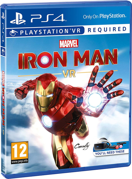 MARVEL IRON MAN VR PSVR - PS4 GAME