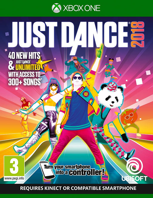 JUST DANCE 2018 - XBOX ONE GAME