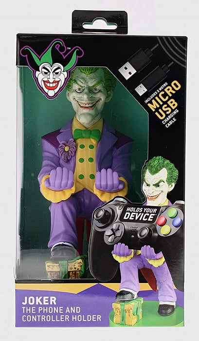 THE JOKER ARKHAM ASYLUM CABLE GUY MOBILE PHONE & CONTROLLER HOLDER