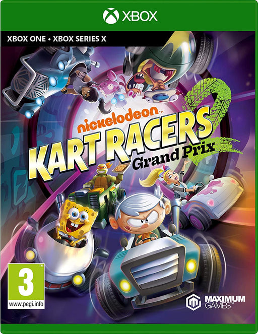 NICKELODEON KART RACERS 2: GRAND PRIX - XBOX ONE & SERIES X GAME