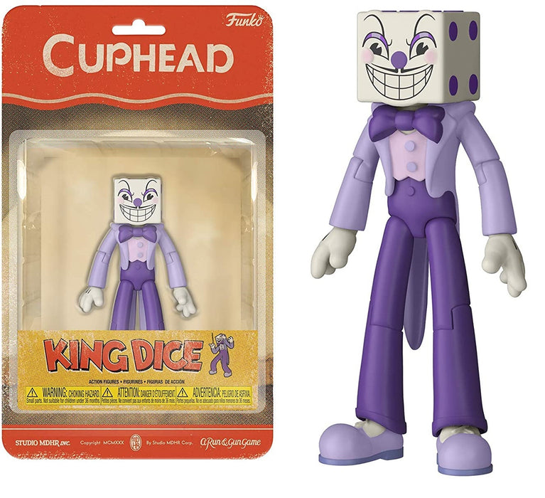 FUNKO ACTION FIGURE: CUPHEAD KING DICE #04