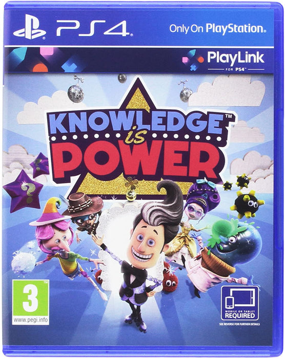 KNOWLEDGE IS POWER - PLAYLINK - PS4 GAME