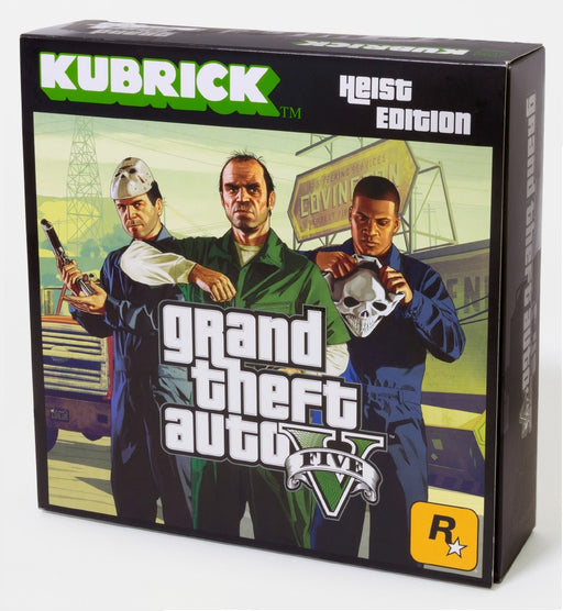 GRAND THEFT AUTO GTA V KUBRICK HEIST EDITION 5 FIGURE SET