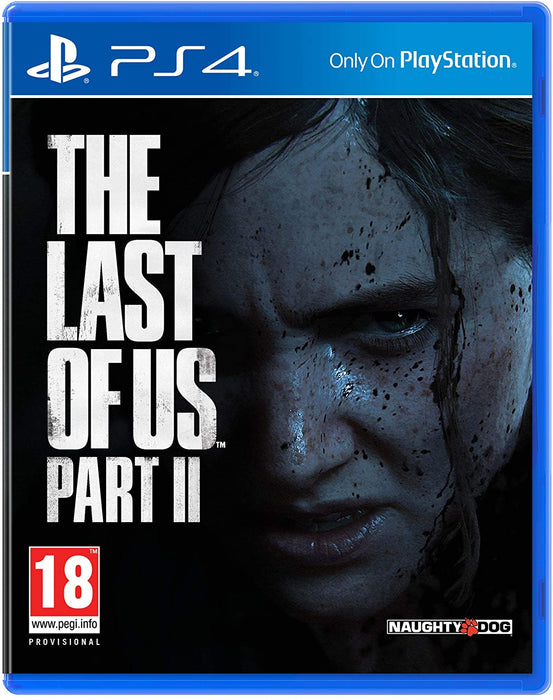 THE LAST OF US PART II - PS4 GAME (MULTI LANGUAGE GAME CASE. GAME PLAY IN ENGLISH)