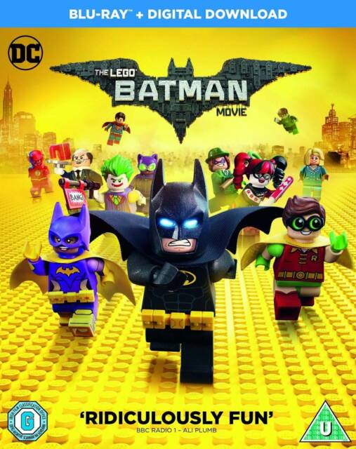 THE LEGO BATMAN MOVIE - BLU-RAY & DIGITAL DOWNLOAD