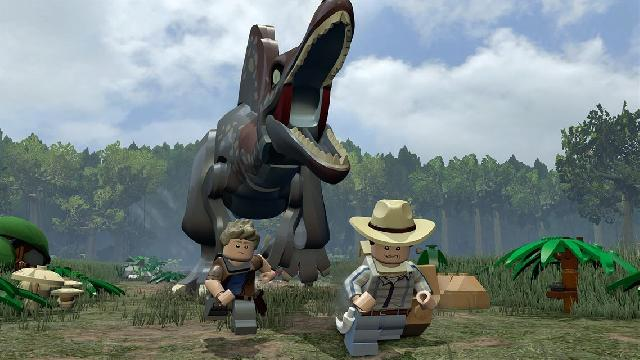 LEGO JURASSIC WORLD - NINTENDO SWITCH GAME