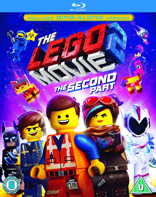 THE LEGO MOVIE 2: THE SECOND PART - BLU-RAY DVD