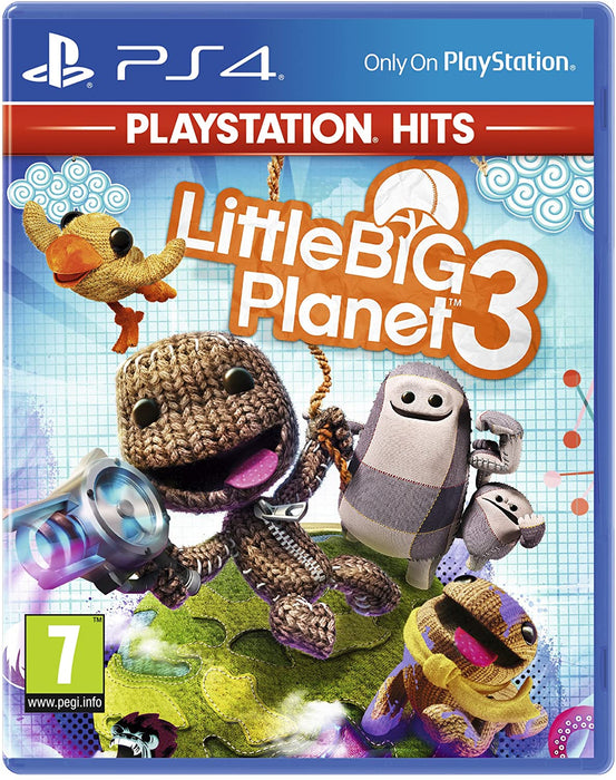 LITTLEBIGPLANET 3 - PLAYSTATION HITS - PS4 GAME