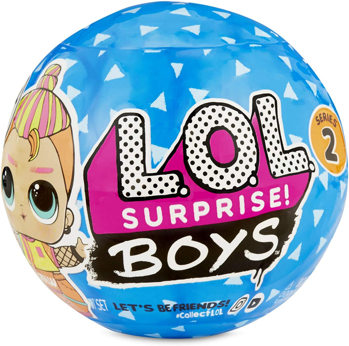 LOL L.O.L SURPRISE BOYS SERIES 2 WITH 7 SURPRISES