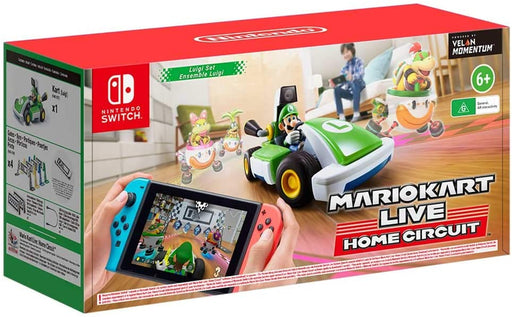 MARIO KART LIVE HOME CIRCUIT: LUIGI EDITION - NINTENDO SWITCH GAME