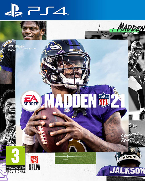 MADDEN 21 NFL - PS4 GAME