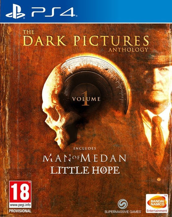 THE DARK PICTURES ANTHOLOGY VOLUME 1: MAN OF MEDAN & LITTLE HOPE LIMITED EDITION - PS4 GAME