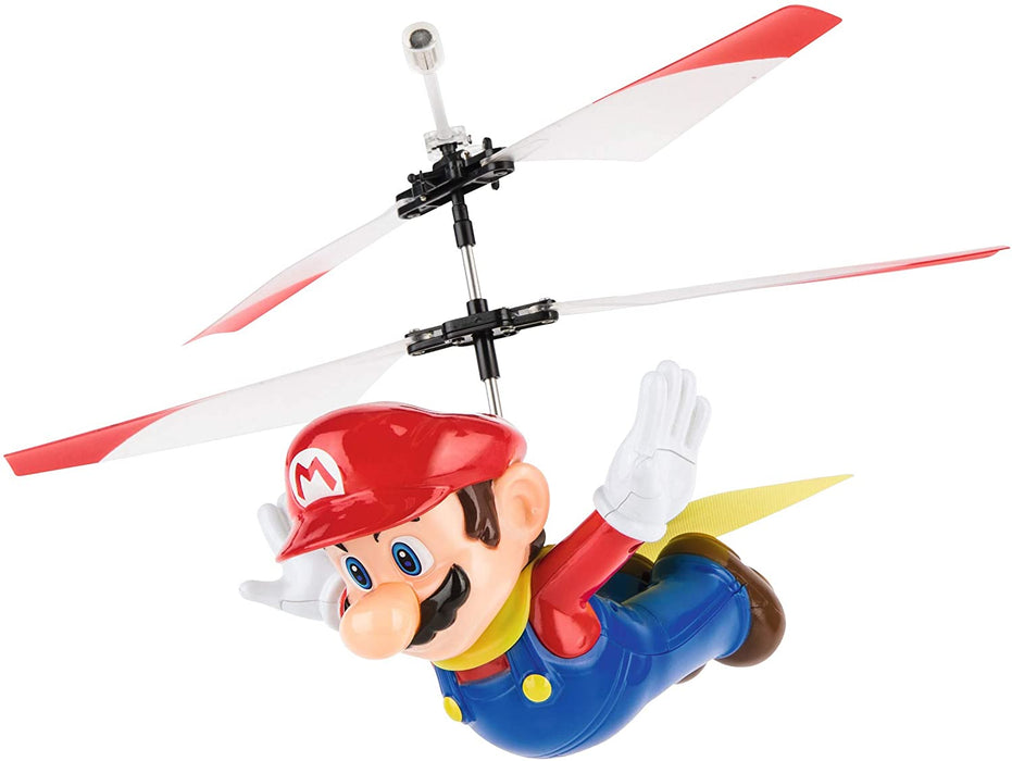 SUPER MARIO REMOTE CONTROLLED FLYING CAPE MARIO HELICOPTER