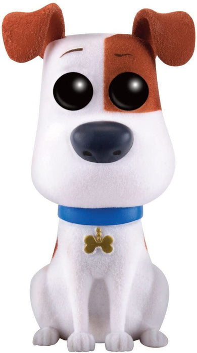 FUNKO POP! MOVIES: THE SECRET LIFE OF PETS MAX (FLOCKED) #293