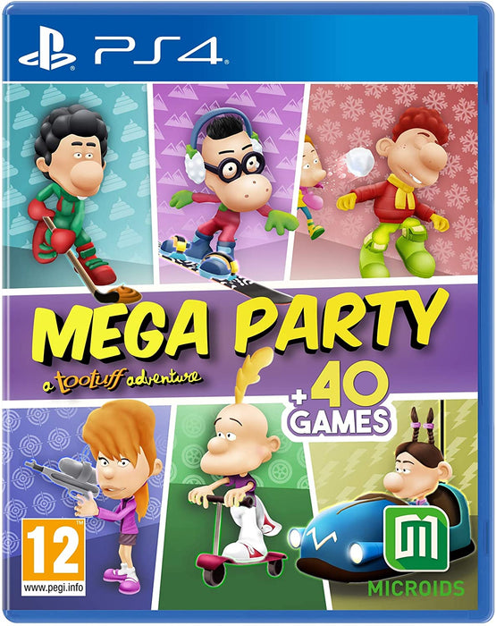 MEGA PARTY: A TOOTUFF ADVENTURE - PS4 GAME