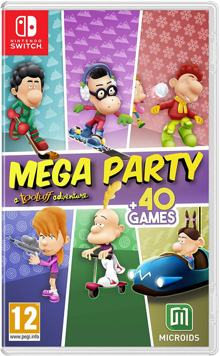 MEGA PARTY: A TOOTUFF ADVENTURE - NINTENDO SWITCH GAME