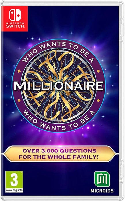 WHO WANTS TO BE MILLIONAIRE? - NINTENDO SWITCH GAME