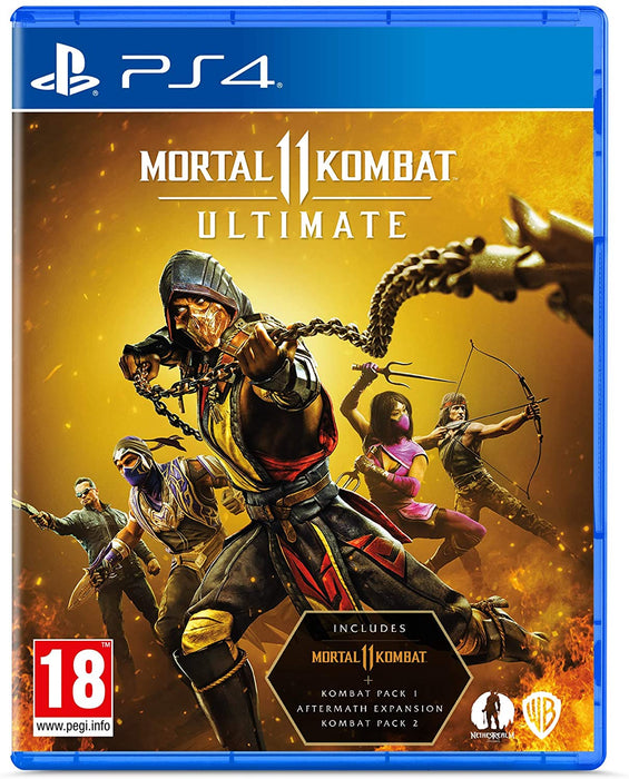 MORTAL KOMBAT 11 ULTIMATE - PS4 GAME