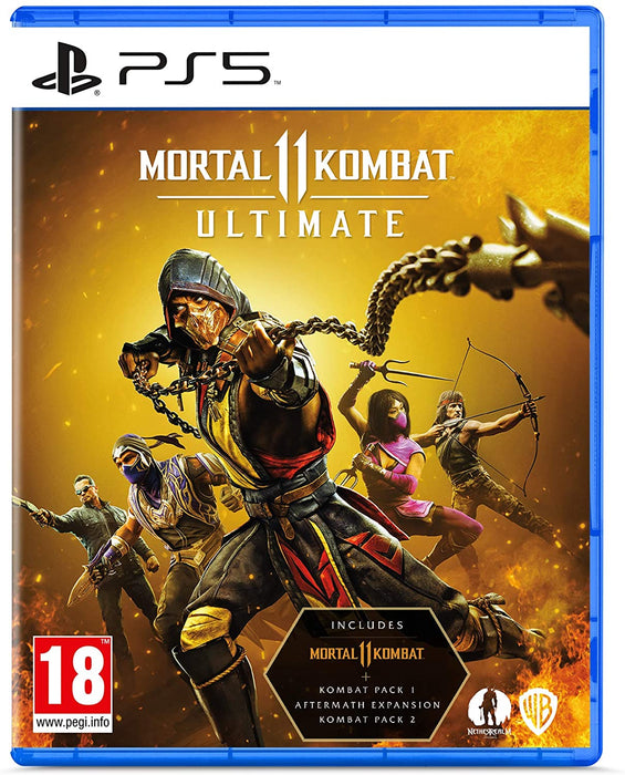 MORTAL KOMBAT 11 ULTIMATE - PS5 GAME