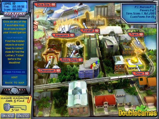 MYSTERY P.I. TRIPLE PACK HIDDEN OBJECT COLLECTION - PC GAME