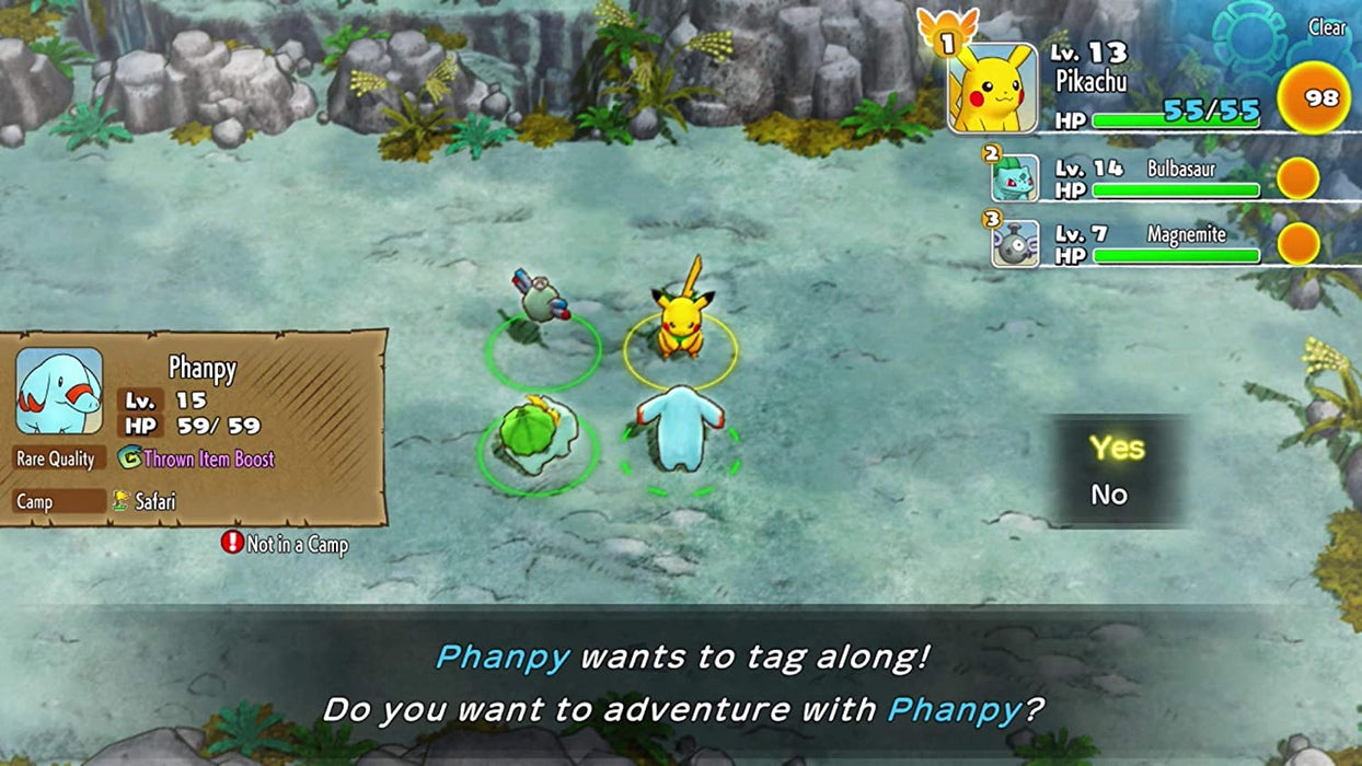 POKEMON MYSTERY DUNGEON RESCUE TEAM DX - NINTENDO SWITCH GAME