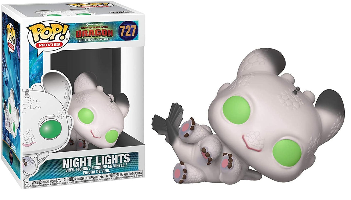 FUNKO POP! MOVIES: HOW TO TRAIN YOUR DRAGON THE HIDDEN WORLD NIGHT LIGHTS #727
