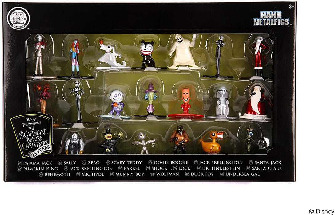 NANO METALFIGS NIGHTMARE BEFORE CHRISTMAS JADA- 20X FIGURES PACK