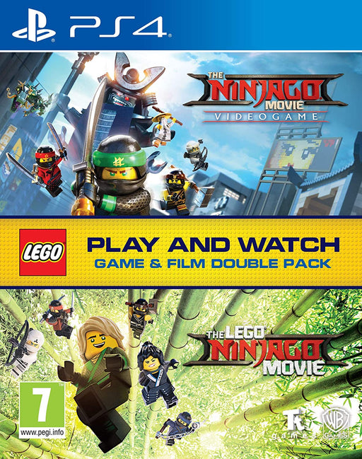 THE LEGO NINJAGO VIDEOGAME & BLU-RAY DOUBLE PACK FOR PS4