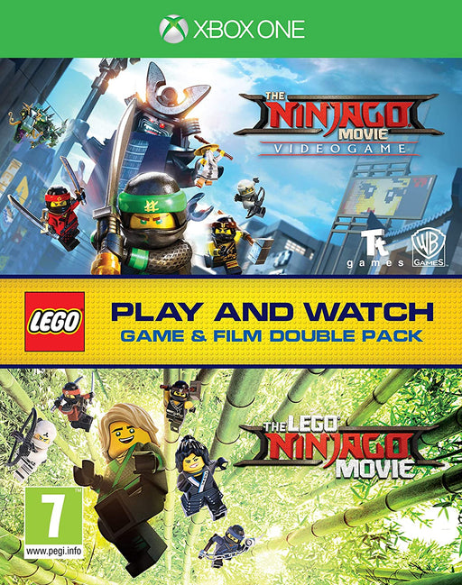 THE LEGO NINJAGO VIDEOGAME & BLU-RAY DOUBLE PACK FOR XBOX ONE