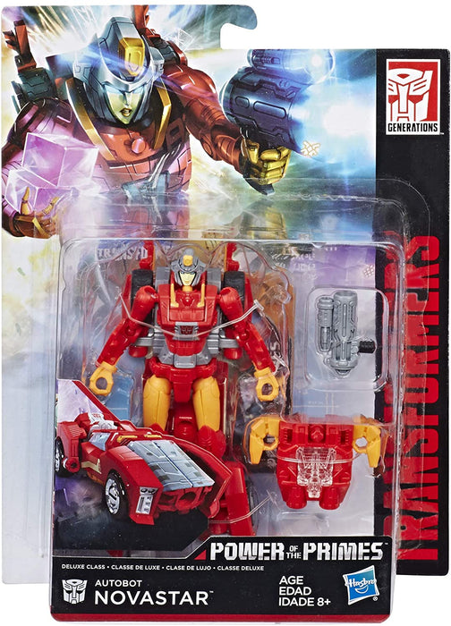 TRANSFORMERS POWER OF THE PRIMES - AUTOBOT NOVASTAR DELUXE CLASS FIGURE