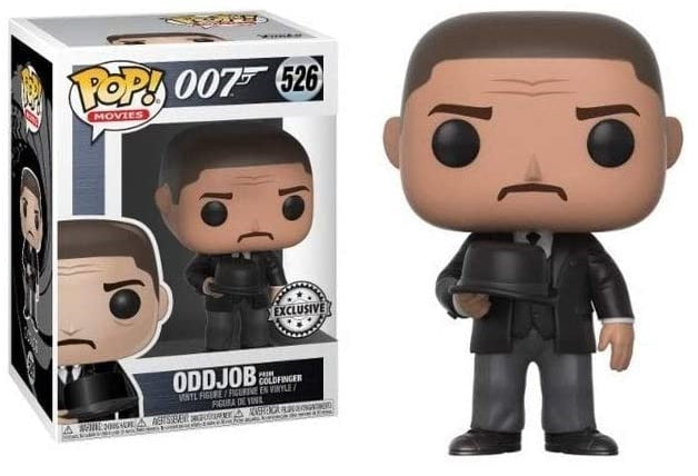 FUNKO POP! MOVIES: JAMES BOND 007 GOLDFINGER ODDJOB #526