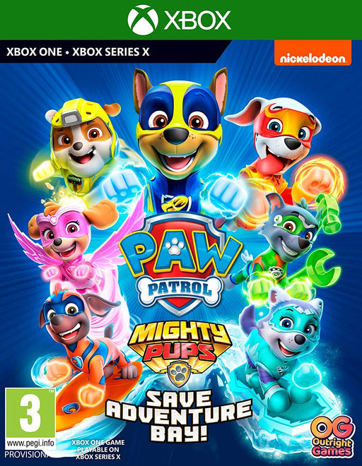 PAW PATROL: MIGHTY PUPS SAVE ADVENTURE BAY - XBOX ONE & SERIES X GAME