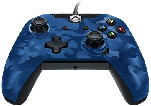 PDP WIRED CONTROLLER FOR XBOX ONE & WINDOWS - BLUE CAMO