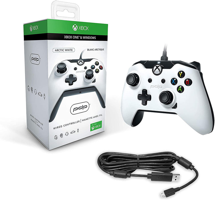 PDP WIRED CONTROLLER FOR XBOX ONE & WINDOWS - WHITE