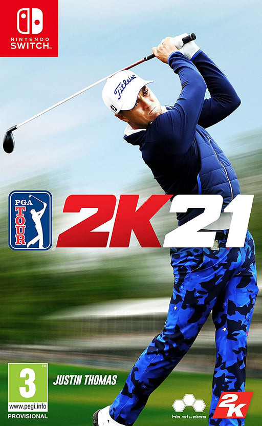 PGA TOUR 2K21 - NINTENDO SWITCH GAME