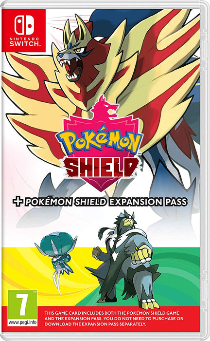 POKEMON SHIELD PLUS EXPANSION PASS - NINTENDO SWITCH GAME