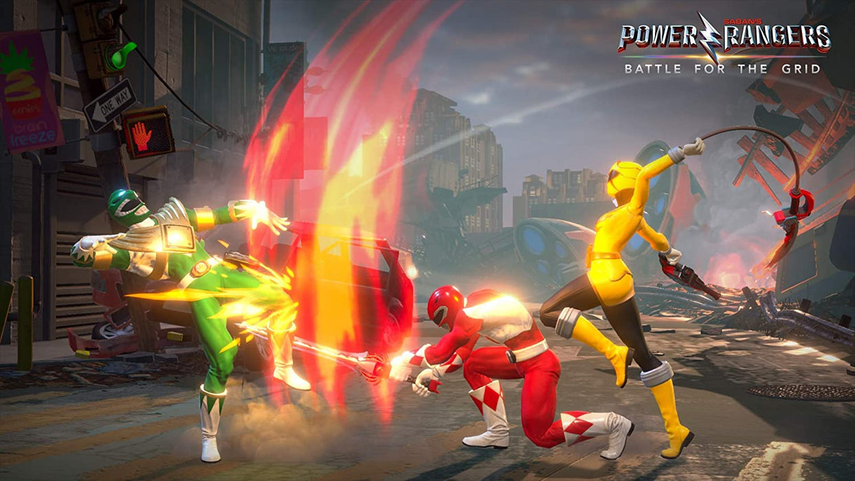 SABAN'S POWER RANGERS: BATTLE FOR THE GRID - NINTENDO SWITCH GAME