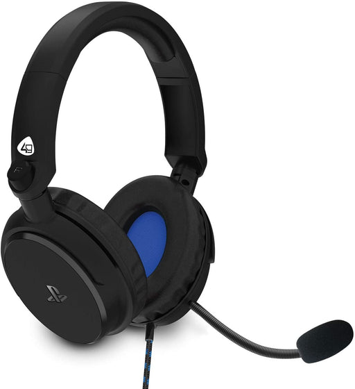 4GAMERS PRO4-50s STEREO GAMING HEADSET FOR PS4 - BLACK