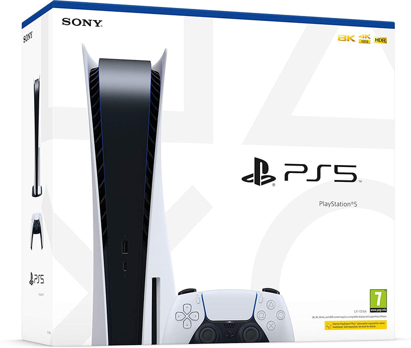 SONY PLAYSTATION 5 CONSOLE - DISC EDITION