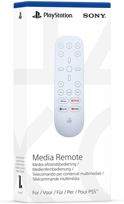 OFFICIAL SONY PLAYSTATION 5 MEDIA REMOTE