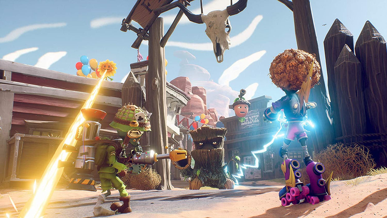 PLANTS VS ZOMBIES: BATTLE FOR NEIGHBORVILLE - PS4 GAME
