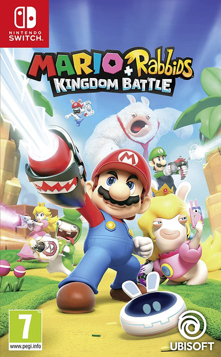 MARI0 + RABBIDS KINGDOM BATTLE - NINTENDO SWITCH GAME