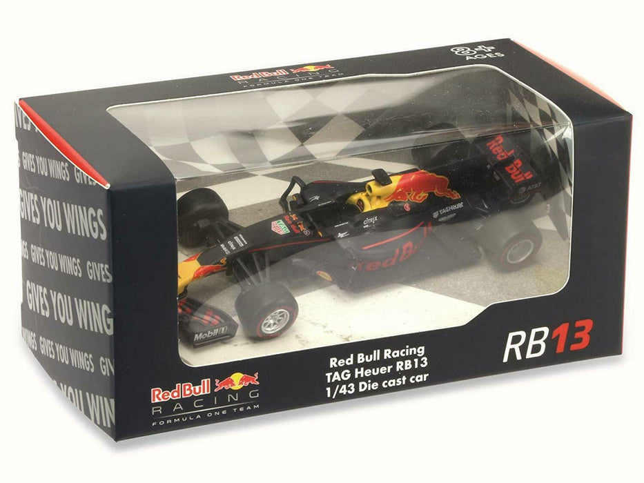 RED BULL RACING TAG HEUER RB13 1/43 DIE CAST CAR