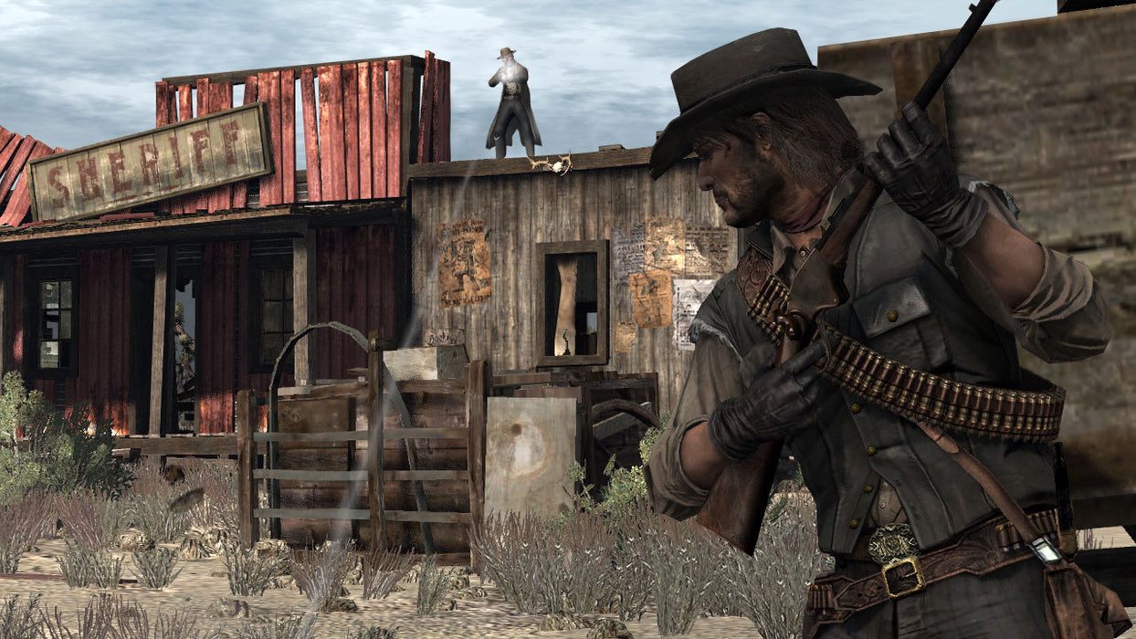 RED DEAD REDEMPTION GAME OF THE YEAR EDITION - PS3 GAME