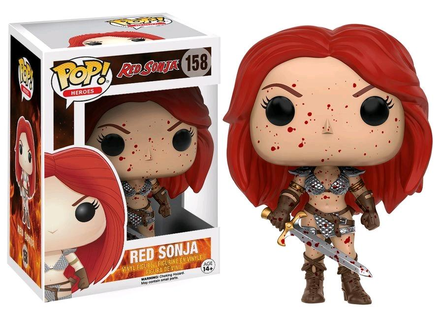 FUNKO POP! HEROES: RED SONJA #158