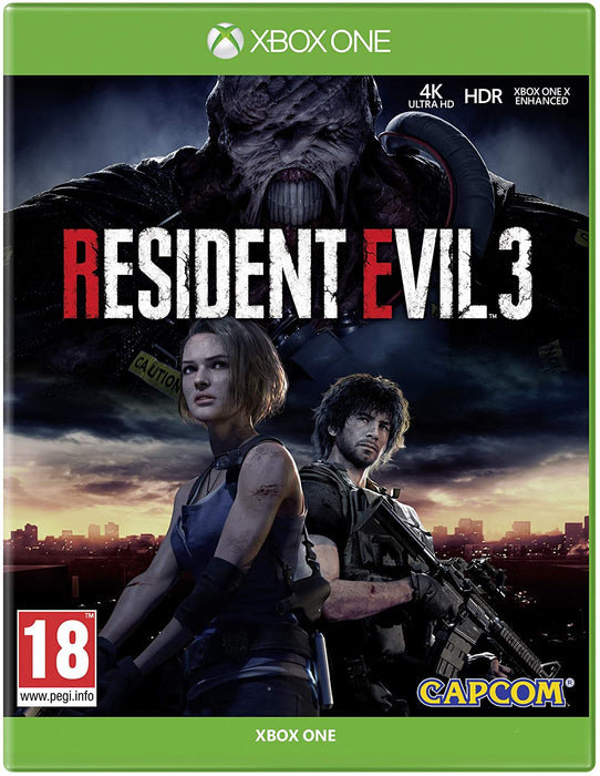 RESIDENT EVIL 3 - XBOX ONE GAME