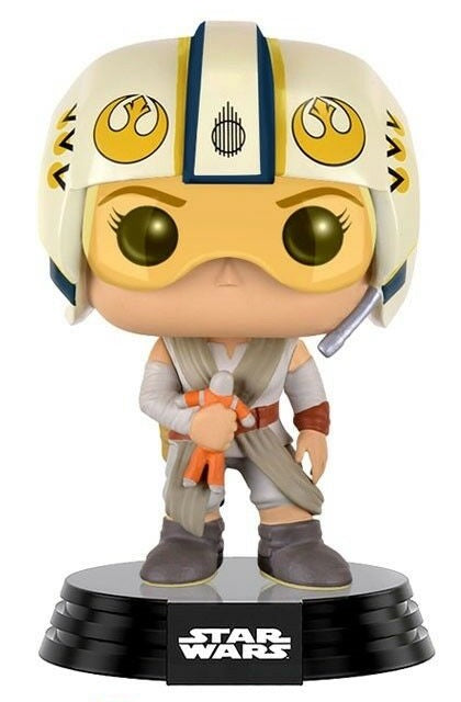 FUNKO POP! STAR WARS REY IN FLIGHT SUIT BOBBLEHEAD #119