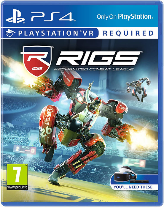 RIGS: MECHANIZED COMBAY LEAGUE PSVR - PS4 GAME